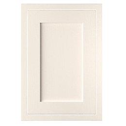 Cooke & Lewis Carisbrooke Ivory Framed Standard Door