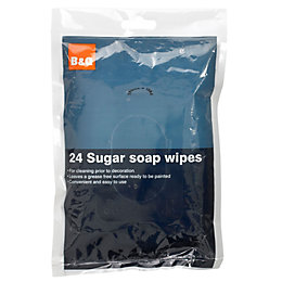 B&Q Sugar Soap Wipes, Pack of 24