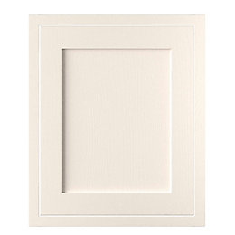Cooke & Lewis Carisbrooke Ivory Framed Fixed Frame