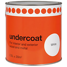 Value White Primer & Undercoat 2.5L