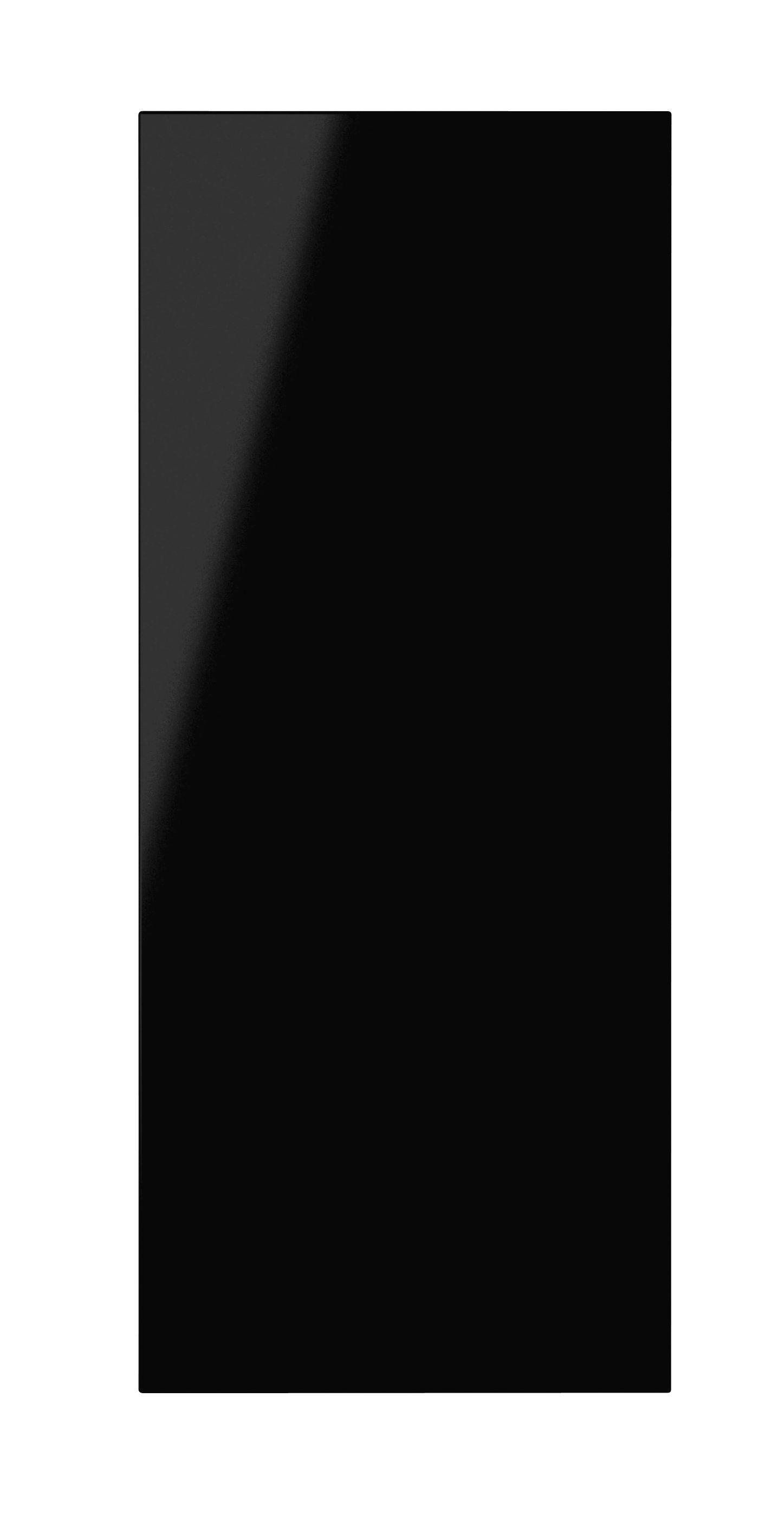 It Kitchens Santini Gloss Black Slab Standard Door (w)300mm