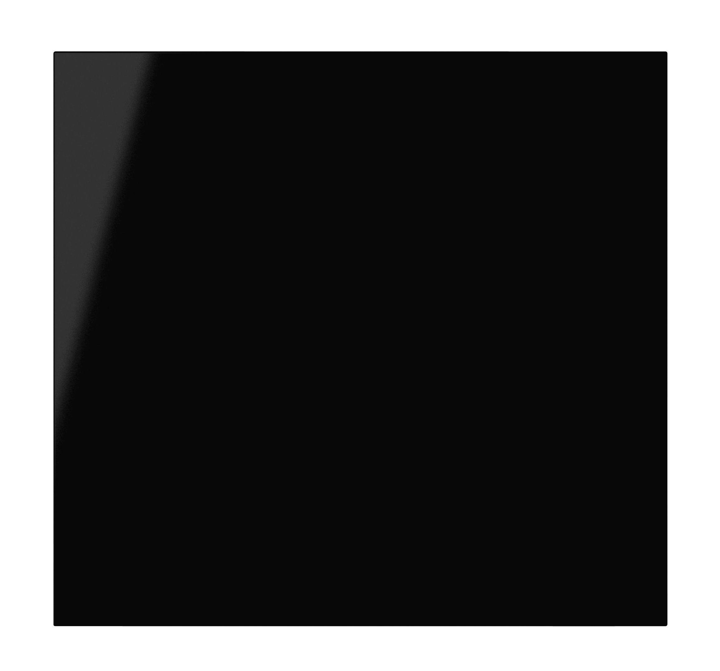 It Kitchens Santini Gloss Black Slab Oven Housing Door (w)600mm