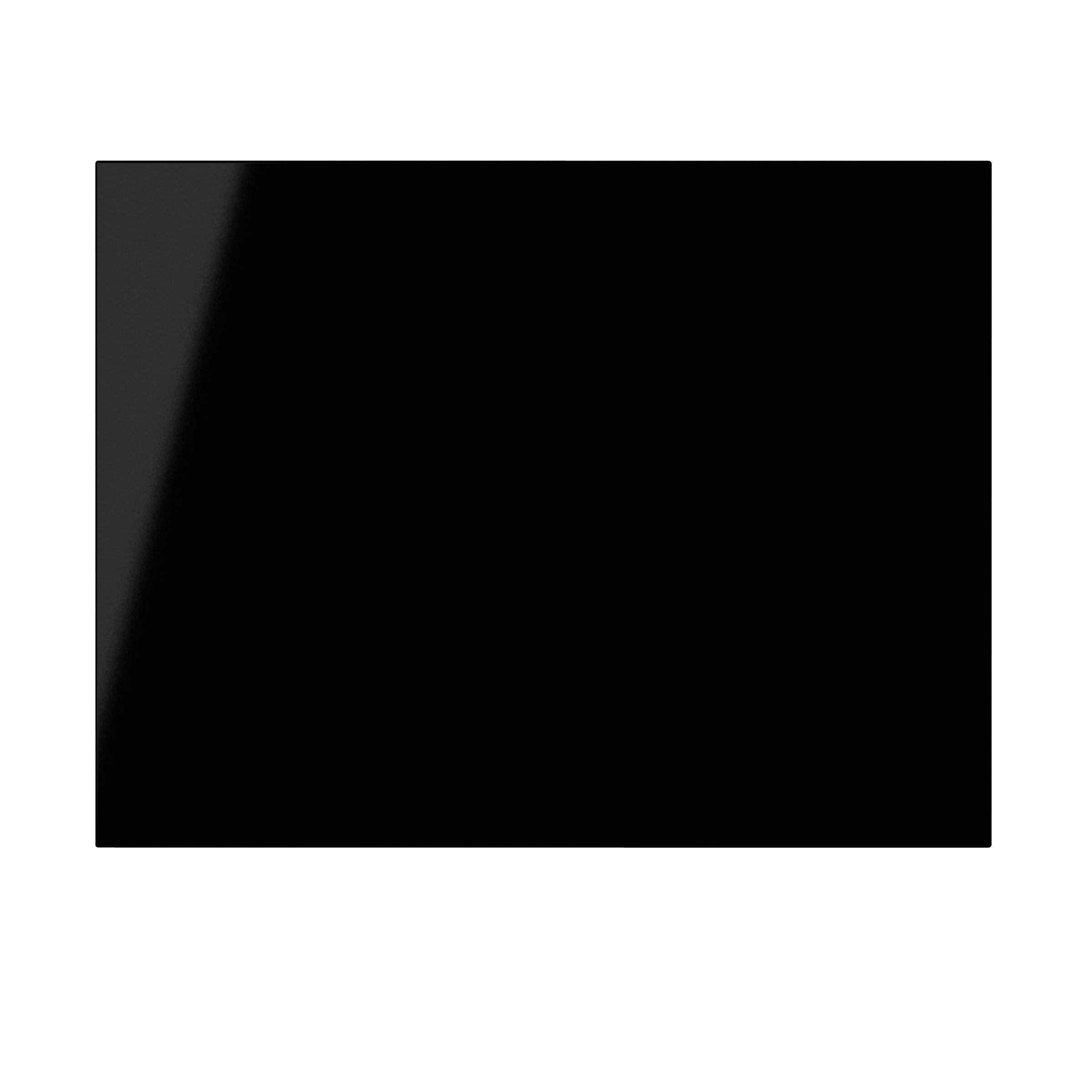It Kitchens Santini Gloss Black Slab Belfast Sink Door (w)600mm