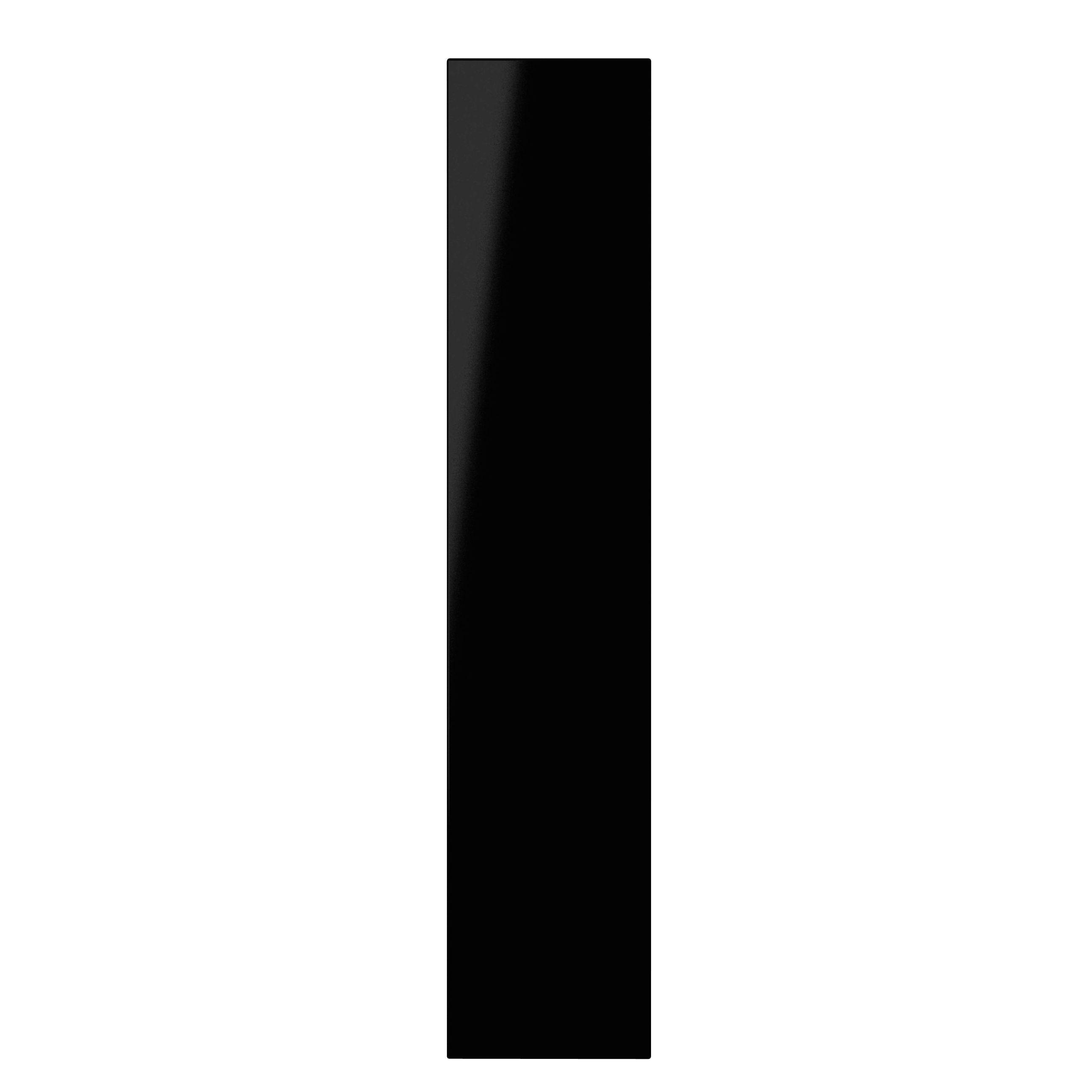 It Kitchens Santini Gloss Black Slab Standard Door (w)150mm