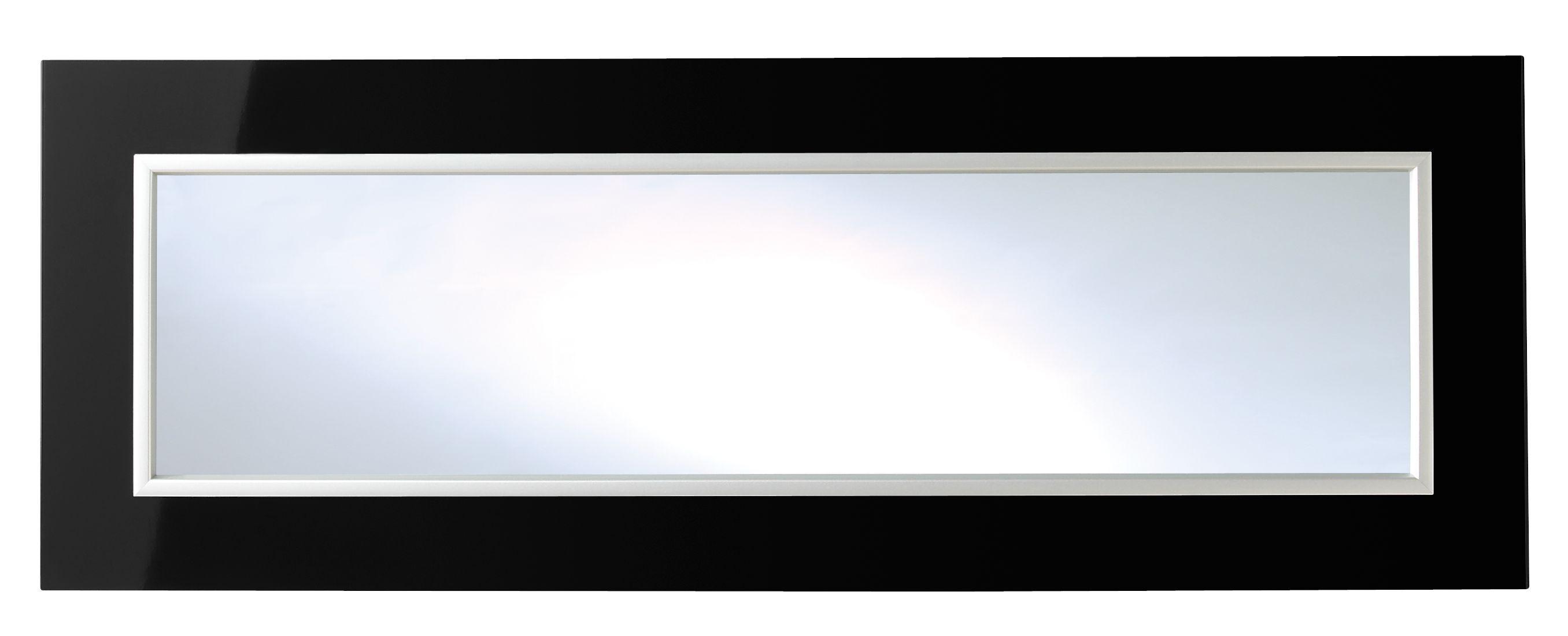 It Kitchens Santini Gloss Black Slab Glazed Bridging Door / Pan Drawer Front (w)1000mm