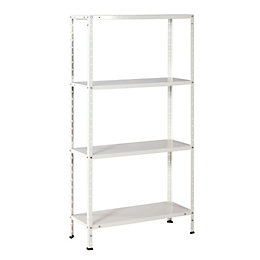 B&Q 4 Shelf Steel Shelving Unit