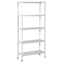 B&Q 5 Shelf Steel Shelving Unit