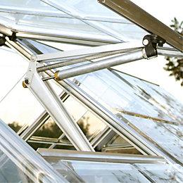 Polycarbonate Greenhouse Window Auto Vent (H)50mm (D)1.05m