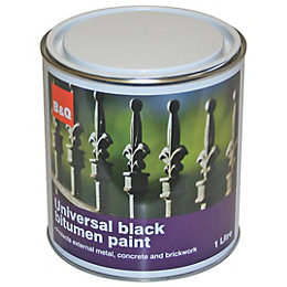 B&Q Black Roof Sealant 1L