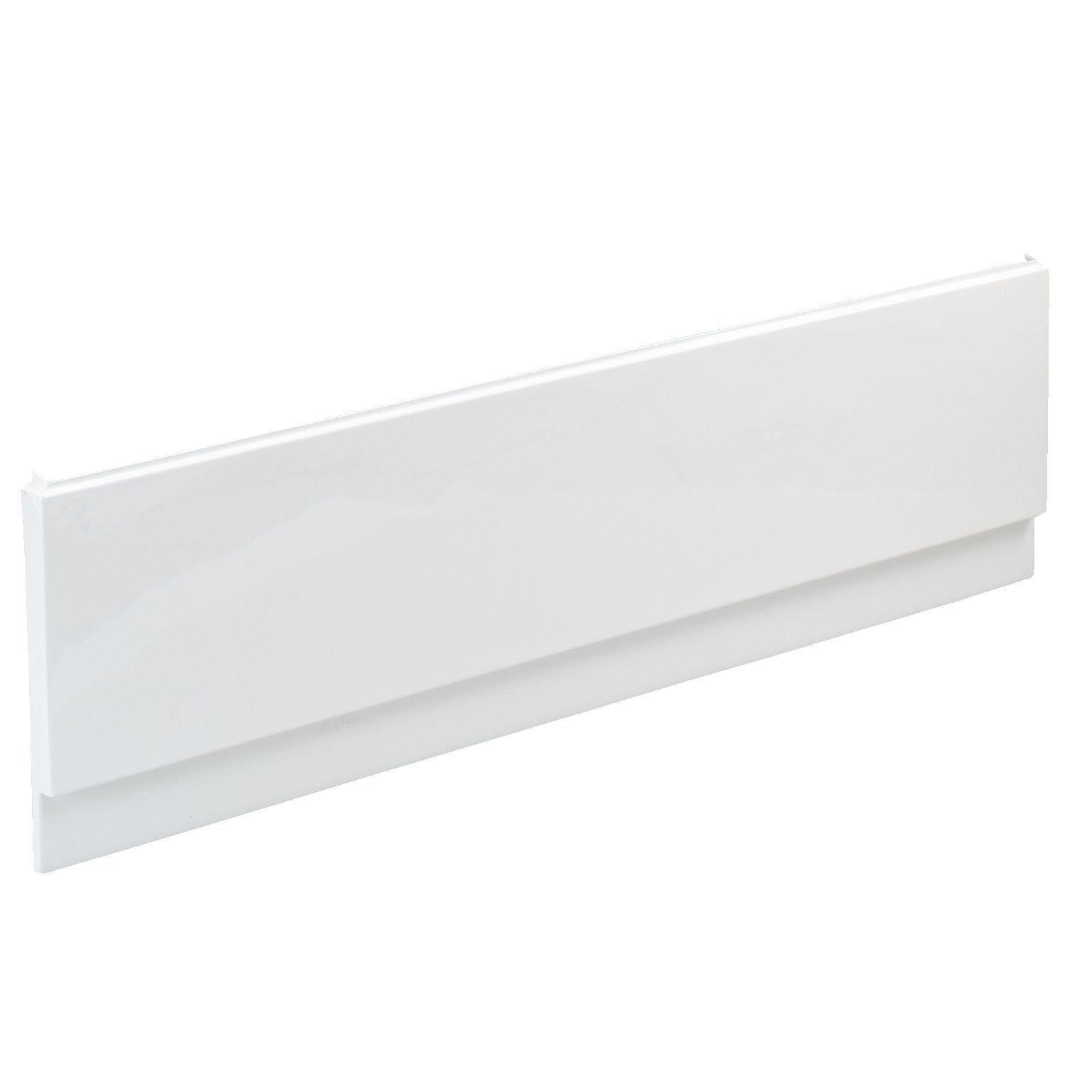 cooke lewis shaftesbury white bath front panel w 1500mm. Black Bedroom Furniture Sets. Home Design Ideas