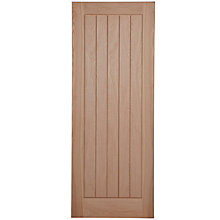 Cottage oak internal door