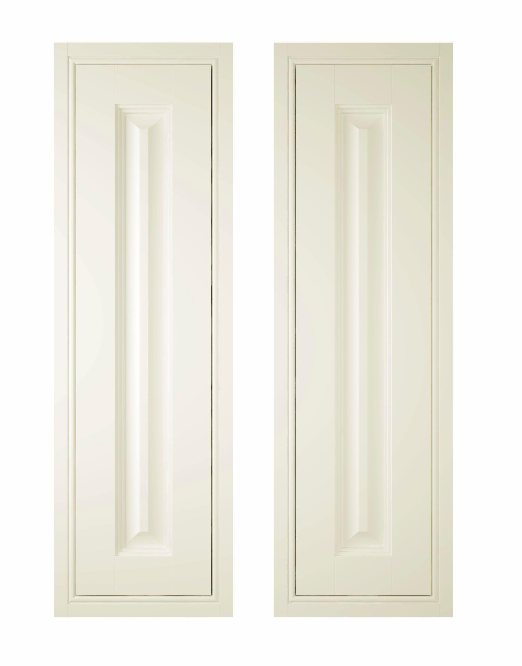 it kitchens holywell cream style classic framed larder door w 300mm