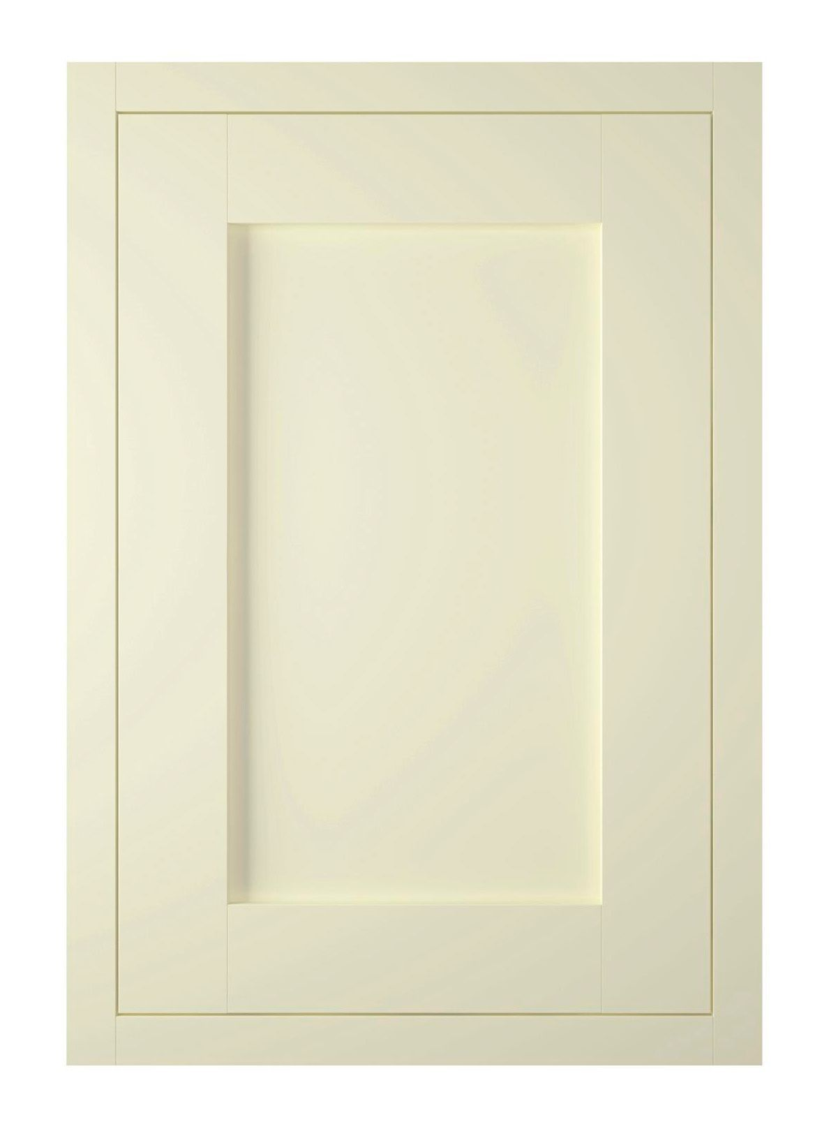 It Kitchens Holywell Ivory Style Framed Fixed Frame Standard Door (w)500mm