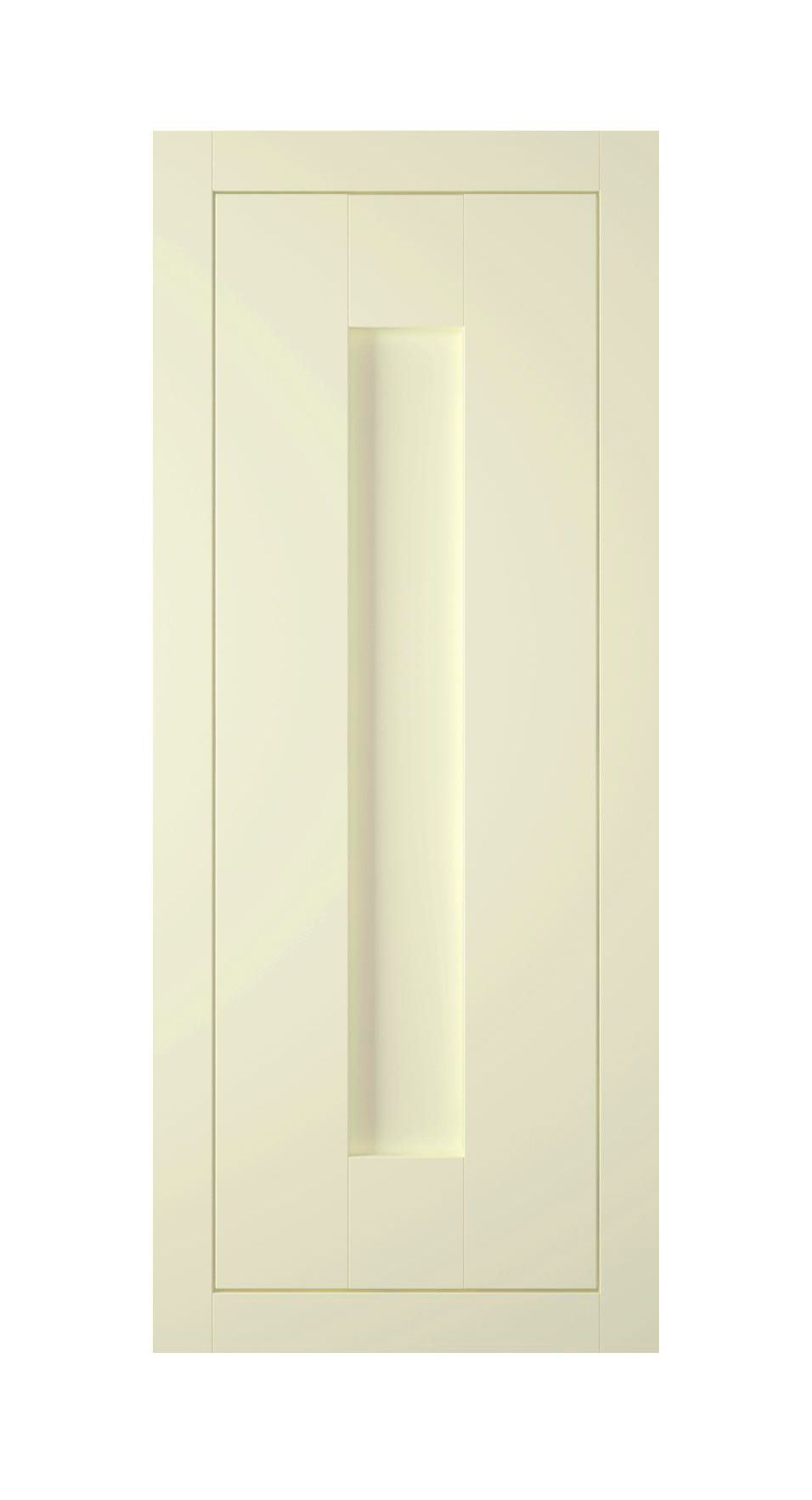 It Kitchens Holywell Ivory Style Framed Glazed Door (w)300mm