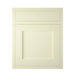 IT Kitchens Holywell Ivory Style Framed Drawerline Door