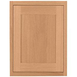 Cooke & Lewis Carisbrooke Oak Framed Fixed Frame