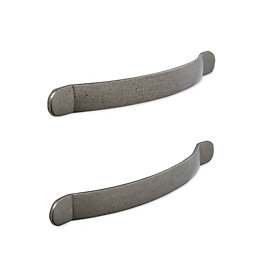 IT Kitchens Antique Pewter Effect D-Shaped Cabinet Handle,