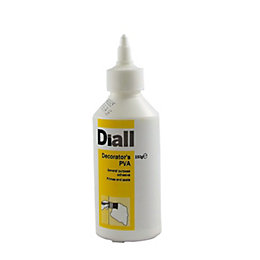 Diall White Decorator's PVA 250 G