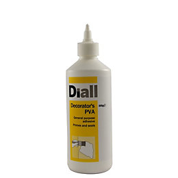 Diall White Decorator's PVA 500G