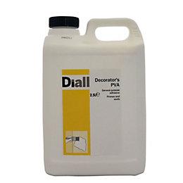 Diall White PVA 2.5L
