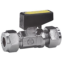 Compression Gas Lever Valve (Dia)15 mm