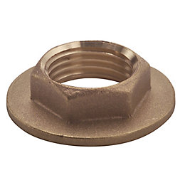 Plumbsure Brass Flanged Backnut (Dia)19mm
