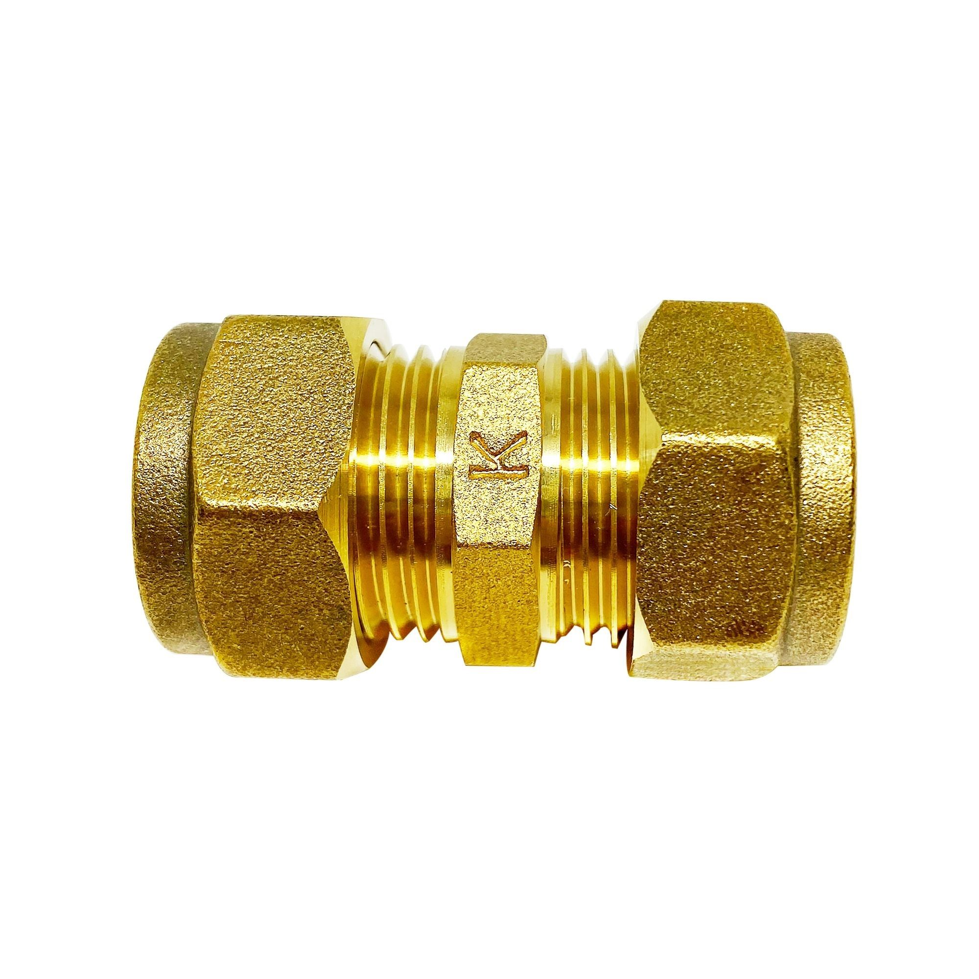 Compression Straight Coupler (dia)15mm