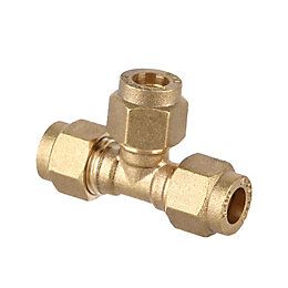 Plumbsure Compression Equal Tee (Dia)8mm