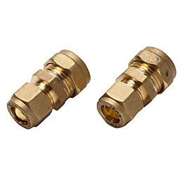 Compression Reducing Coupler (Dia)15mm, Pack of 2