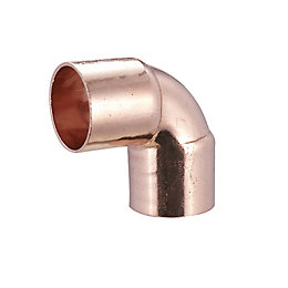 End Feed Elbow (Dia)15mm, Pack of 2