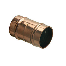 Solder Ring Straight Coupler (Dia)22mm, Pack of 5