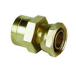 Push Fit Straight Tap Connector (Dia)15mm
