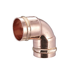 Solder Ring Elbow (Dia)22 mm, Pack of 2
