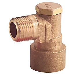Plumbsure Copper Elbow Bayonet (Dia)12.7mm