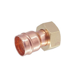 Solder Ring Straight Tap Connector (Dia)22mm, Pack of