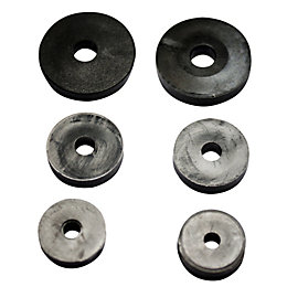 Plumbsure Rubber Tap Washer, Pack of 6