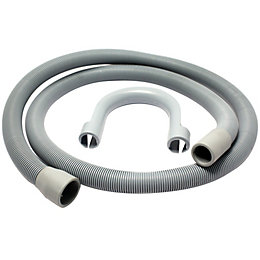Plumbsure Push Fit Plastic Outlet Hose (Dia)21mm