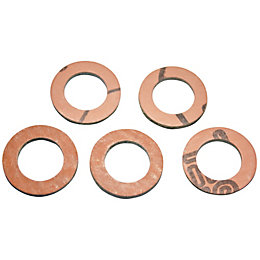 "Plumbsure Fibre Washer (Thread)3/4"", Pack of 5"