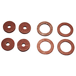 Plumbsure Fibre Washer, Pack of 8