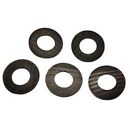 "Plumbsure Rubber Hose Washer (Thread)3/4"", Pack of 5"