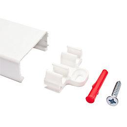 Plumbsure White Pipe Clip (Dia)10mm