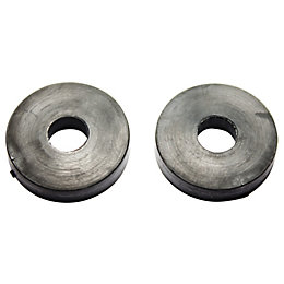 "Plumbsure Rubber Tap Washer (Thread)3/4"", Pack of 2"