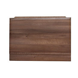 Cooke & Lewis Walnut Effect Bath End Panel