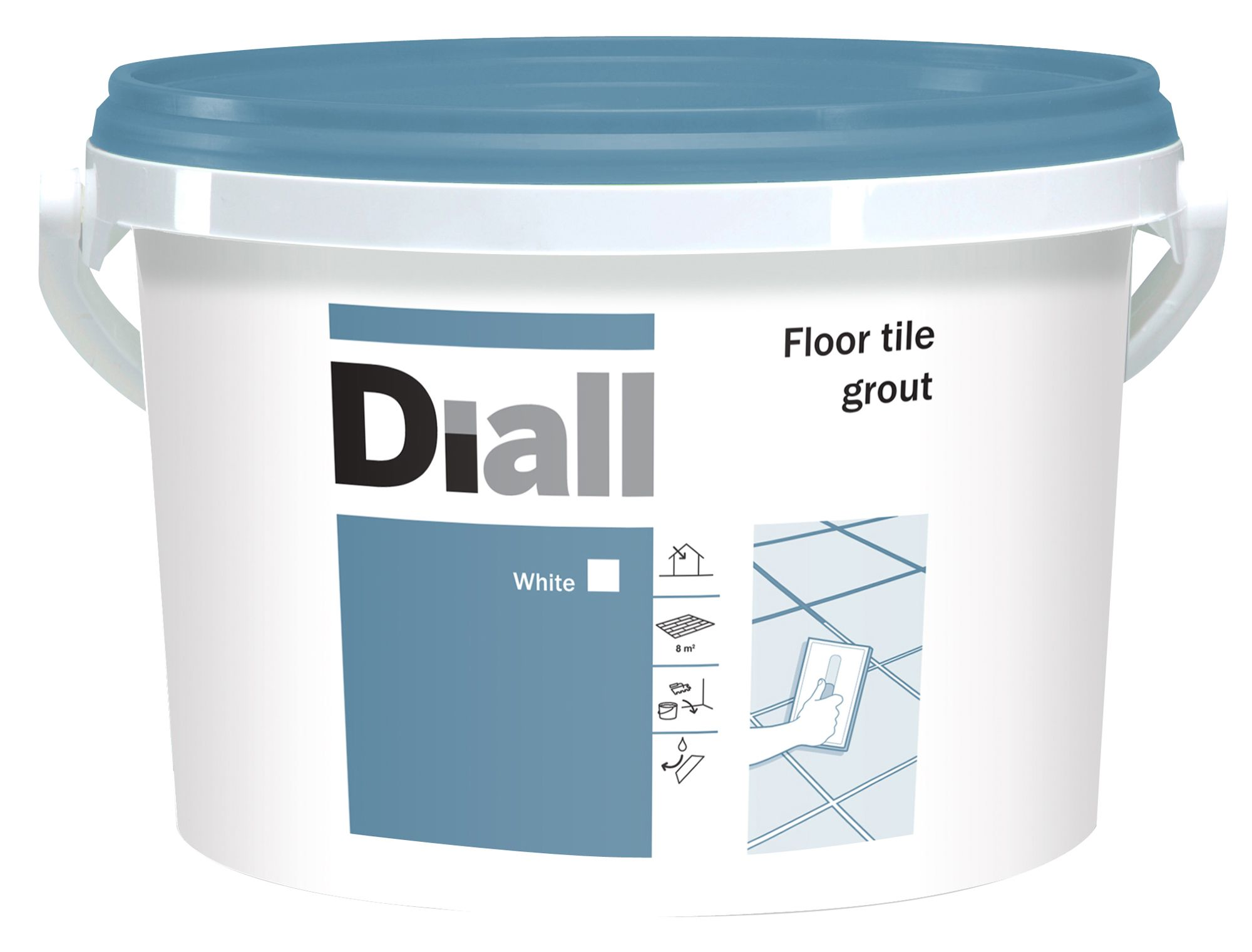 Diy at bq diall white floor tile grout w375kg dailygadgetfo Image collections