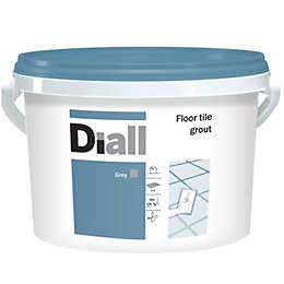 Diall Grey Ready Mixed Floor Tile Grout 3.75