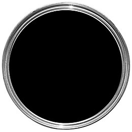 Fortress Black Satin Metal Paint 750ml