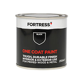 Fortress One Coat Interior & Exterior Black Matt