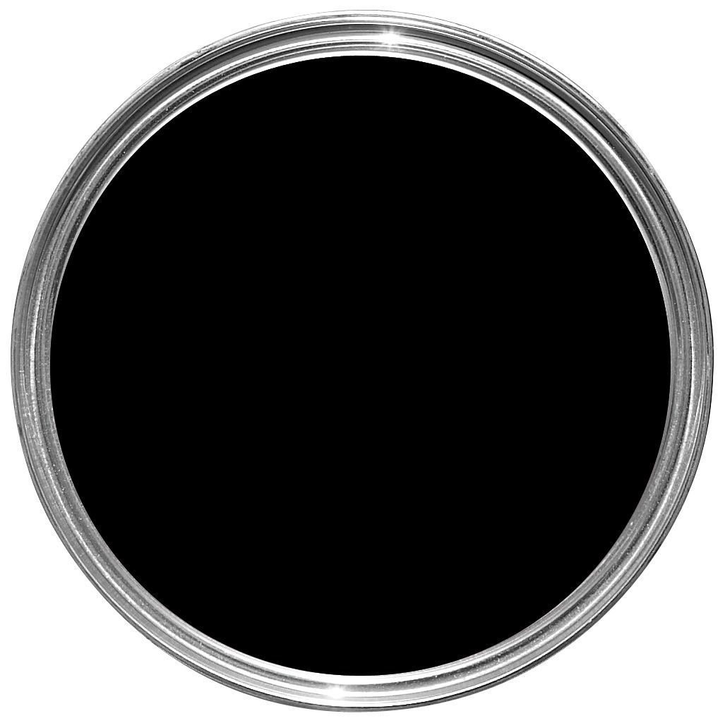 Fortress Matt One Coat Black Paint Ml