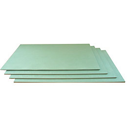 Diall 6mm Fibreboard Laminate Floor & Glueless Wood