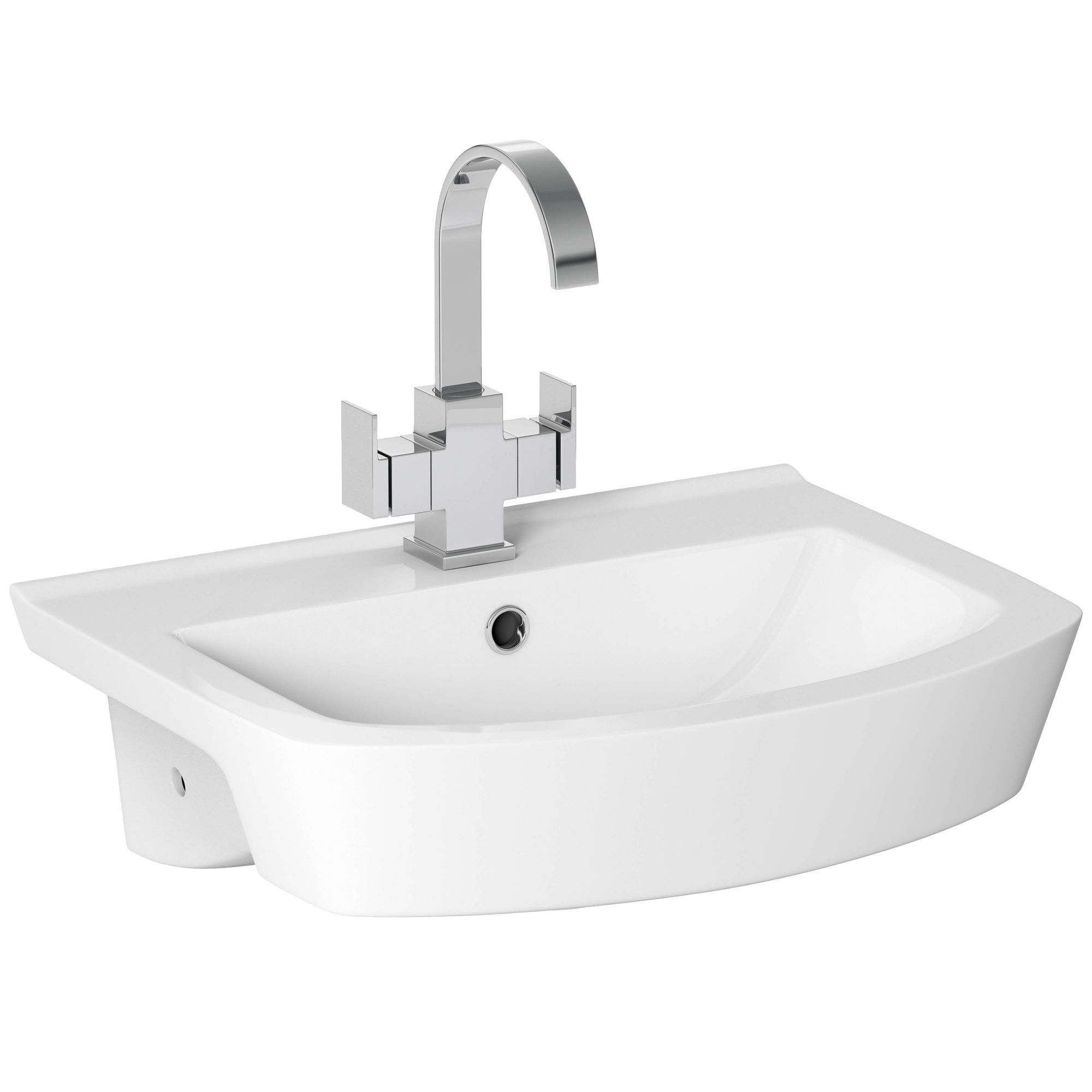 Cooke & Lewis Luciana Semi Recessed Basin Departments